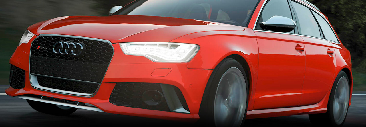 Audi RS6 Cat Back Exhaust System (Round Tips) #FPIM-0580