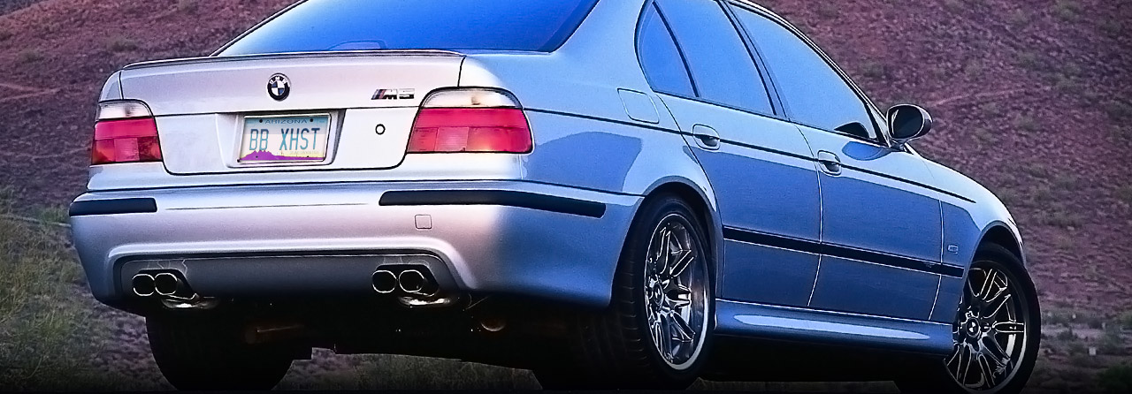 BMW E39 528 Touring Muffler Only #FBMW-0150