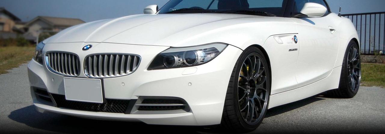 BMW Z4 Cat Back Exhaust System 3.0L (Round Tips) #FBMW-0926