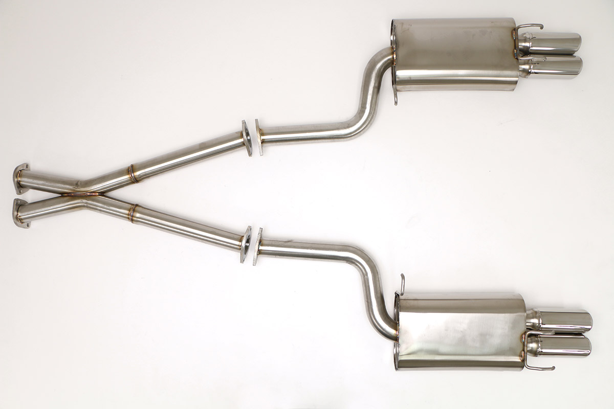 Nissan 300zx Twin Turbo Cat Back Exhaust System 2 1 2