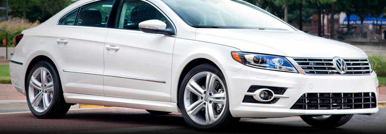 VW CC Cat Back Exhaust System (Round Tips) #FPIM-0289