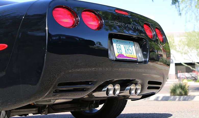 C5 Corvette with Fusion Exhaust Drive Off – Billy Boat Exhaust