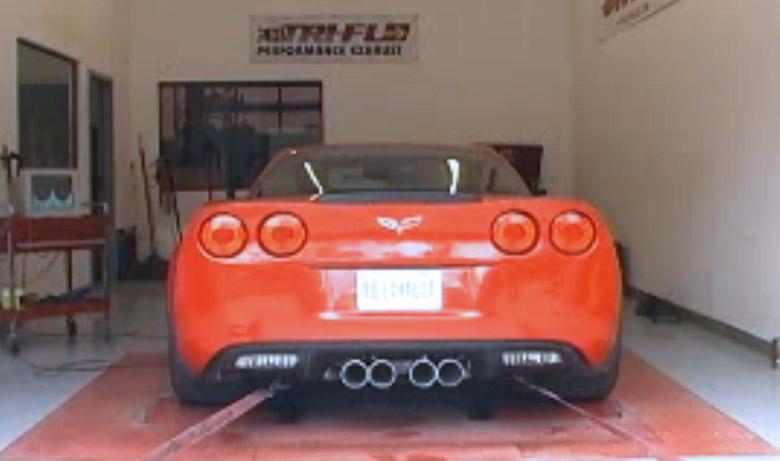 Chevy C6 Corvette Z06 Dyno Test – Billy Boat Exhaust