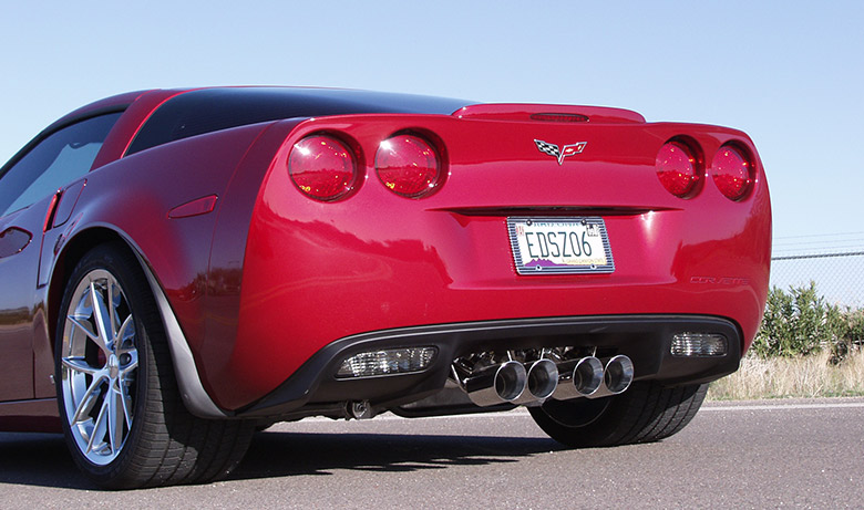 Chevy C6 Corvette Drive Off – Billy Boat Exhaust
