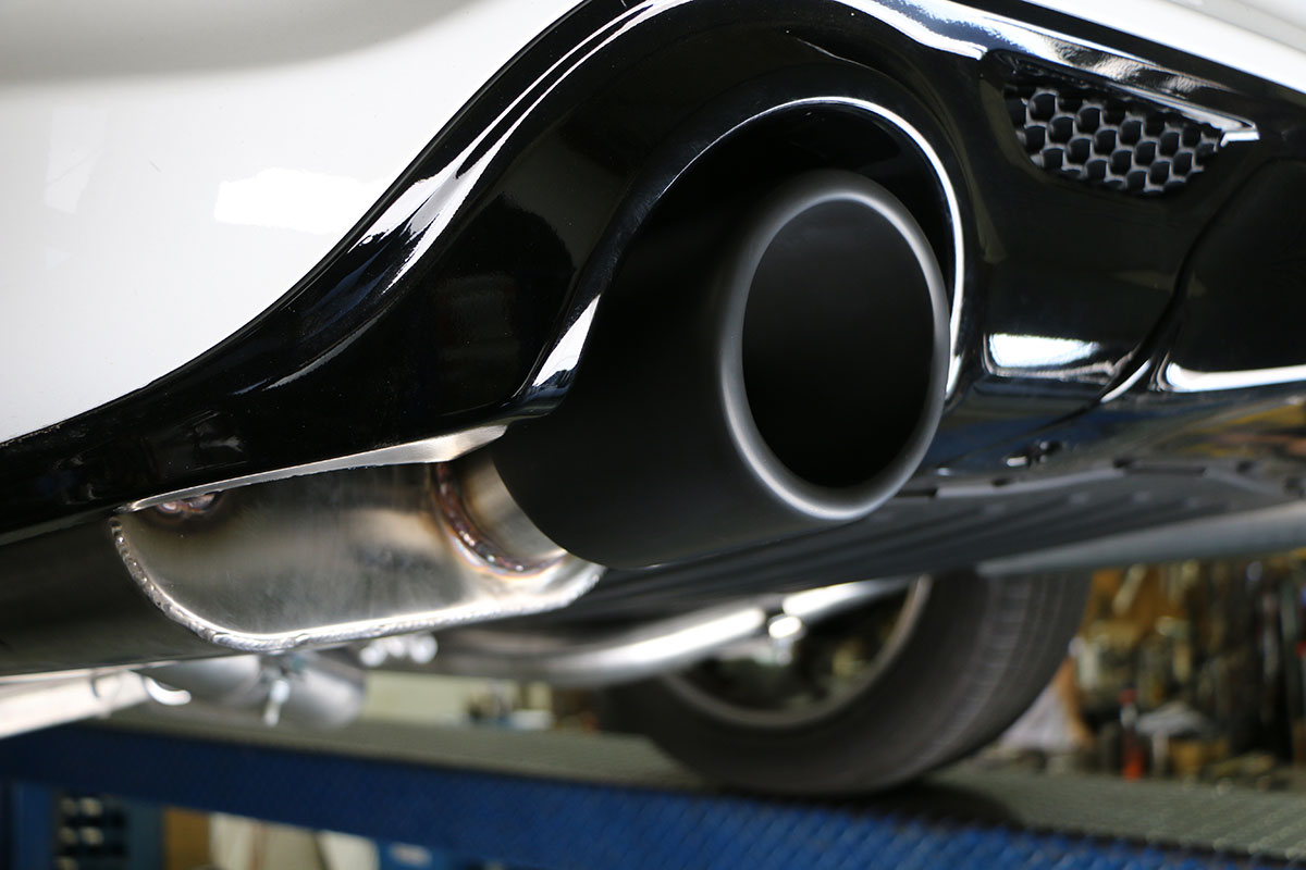 Jeep Grand Cherokee SRT Cat Back Exhaust System (Oval Tips ...