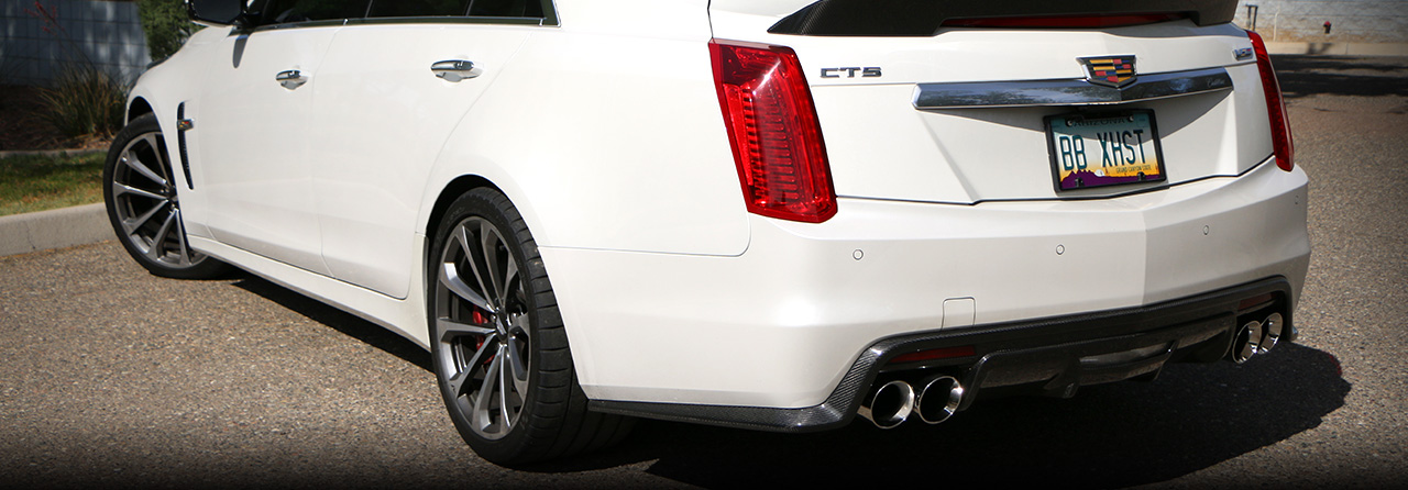 Cadillac CTS-V Front Pipes with High-Flow Cats #FDOM-0313