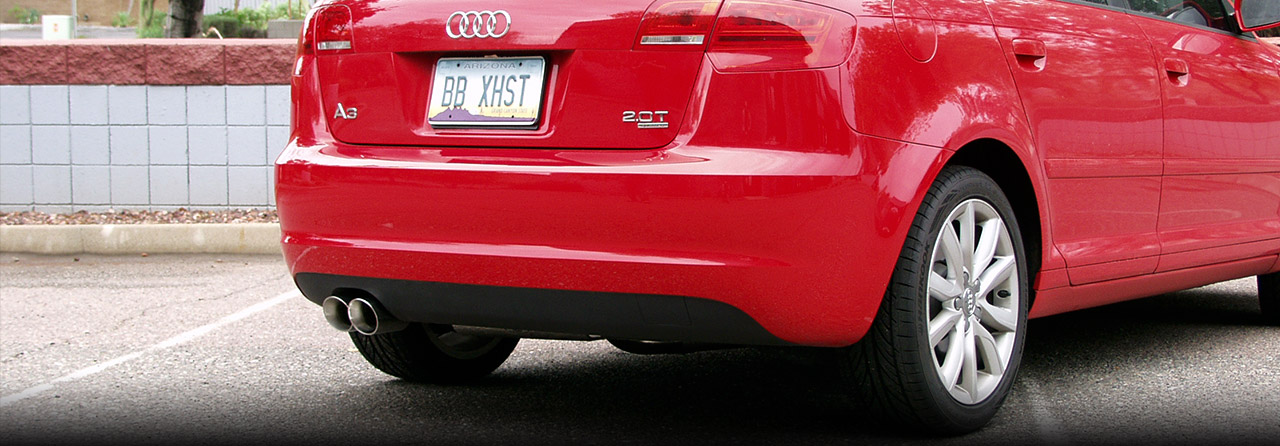 Audi A3 and A3 Quattro Cat Back Exhaust System 2.0T (Round Tips) #FPIM-0472