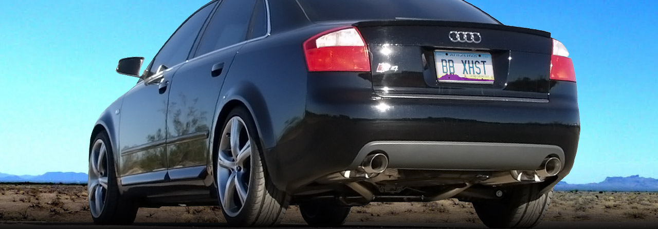 Audi B5 S4 Cat Back Sport Exhaust System 27t Round Tips Fpim: 2006 Audi A6 Exhaust System At Woreks.co