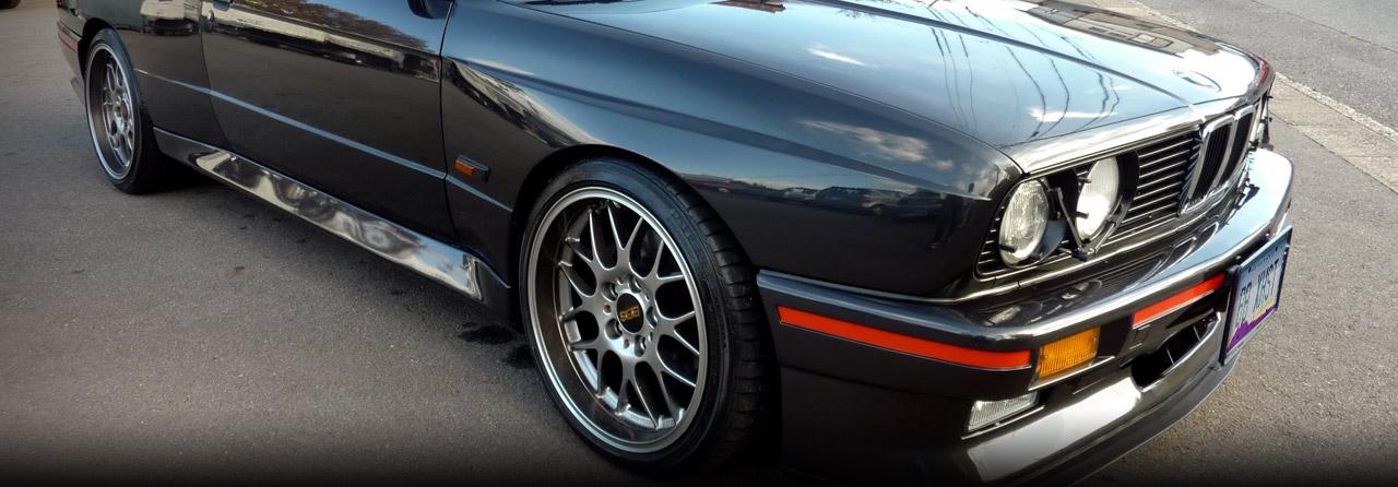 BMW 325ix Cat Back Exhaust System (Round Tips) #FBMW-0540