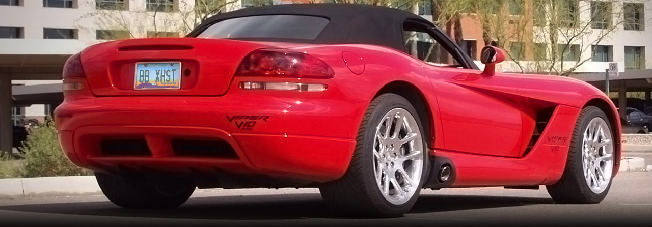 Dodge Viper GTS Cat Back Exhaust System (Oval Tips) #FVIP-0122