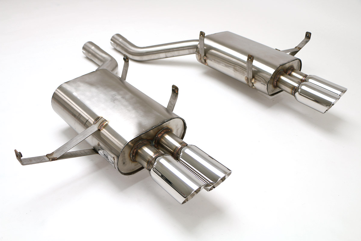 BMW E39 M5 Cat Back Exhaust System (Round Tips) #FBMW-1100