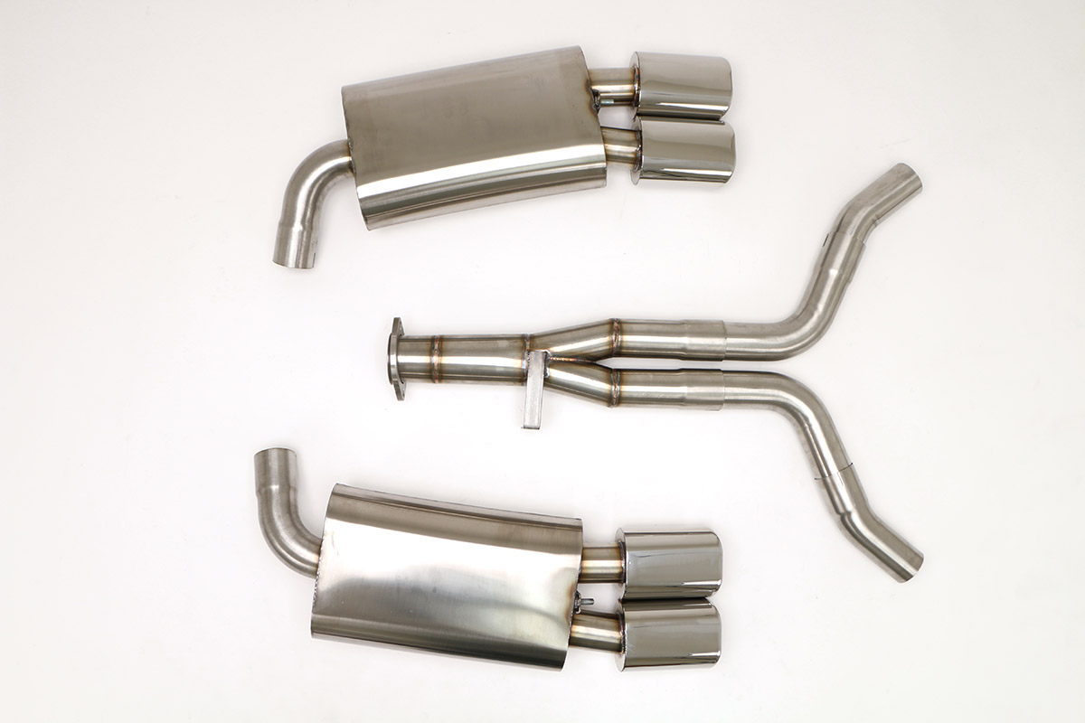Corvette C4 Exhaust Products - Billy Boat Exhaust