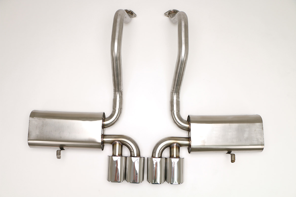 Corvette C5 Exhaust Products - Billy Boat Exhaust