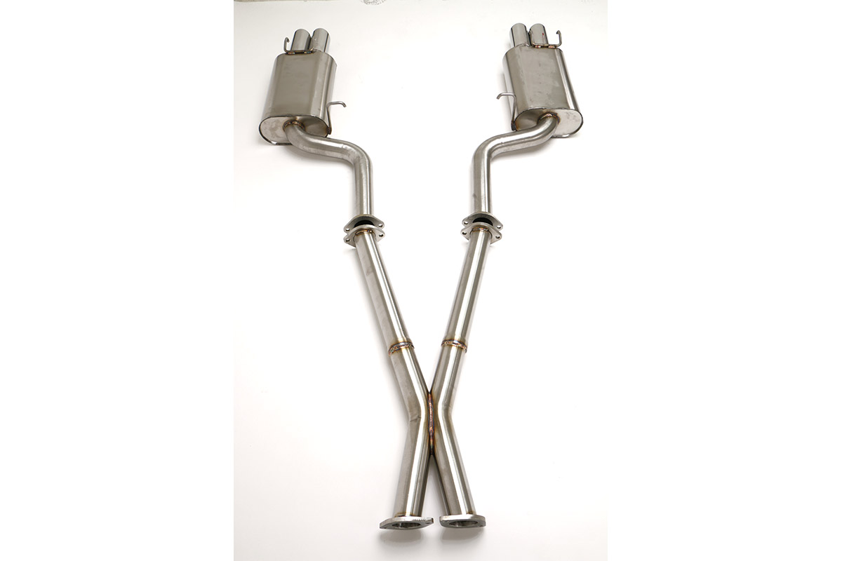 Nissan 300ZX Twin Turbo Cat Back Exhaust System 2 1/2