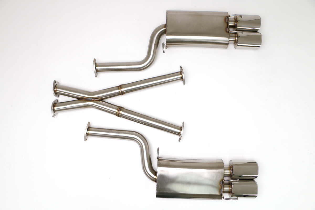 Nissan 300zx Twin Turbo Cat Back Exhaust System 2 1 Oval Tips 1989 Fuel Filter Removal Fpim 0035 Billy Boat