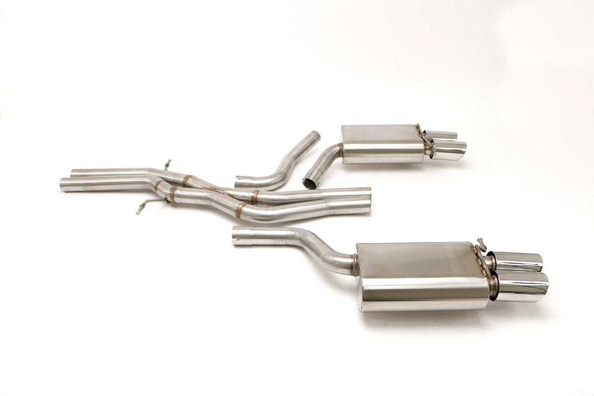 Audi S5 Cat Back Sport Exhaust System 4 2L (Round Tips) #FPIM-0575