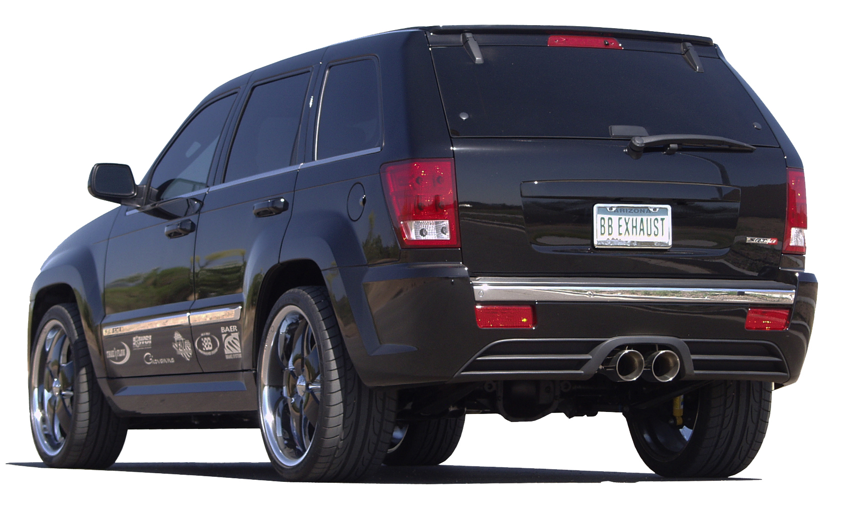 Jeep Grand Cherokee Srt8 Cat Back Exhaust System Round Tips Ftru 0310 Billy Boat Exhaust