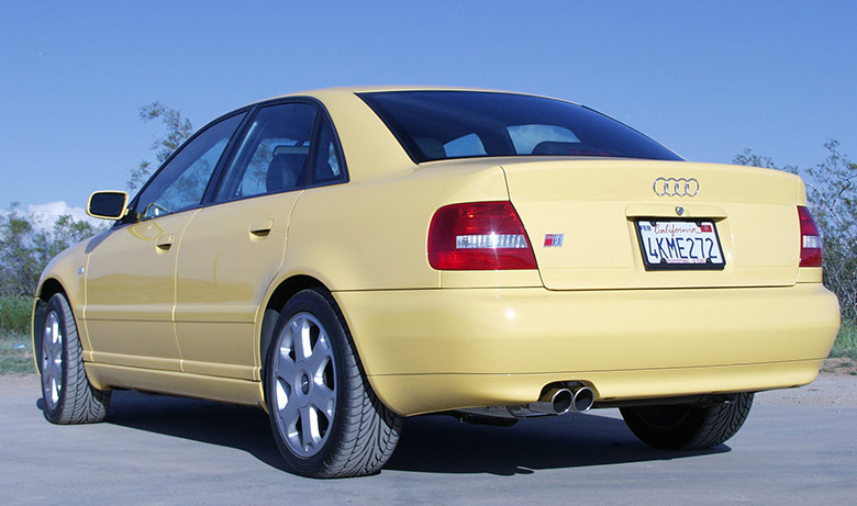 Audi S4 Drive Off – Billy Boat Exhaust