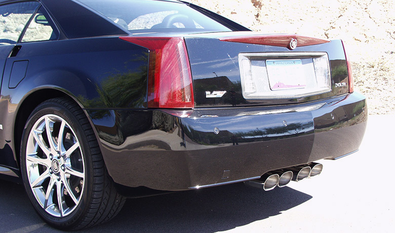 Cadillac XLR with Fusion Exhaust