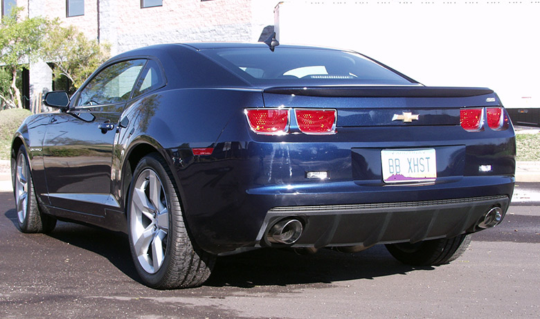 Chevy Camaro SS with Sport Exhaust – Billy Boat Exhaust