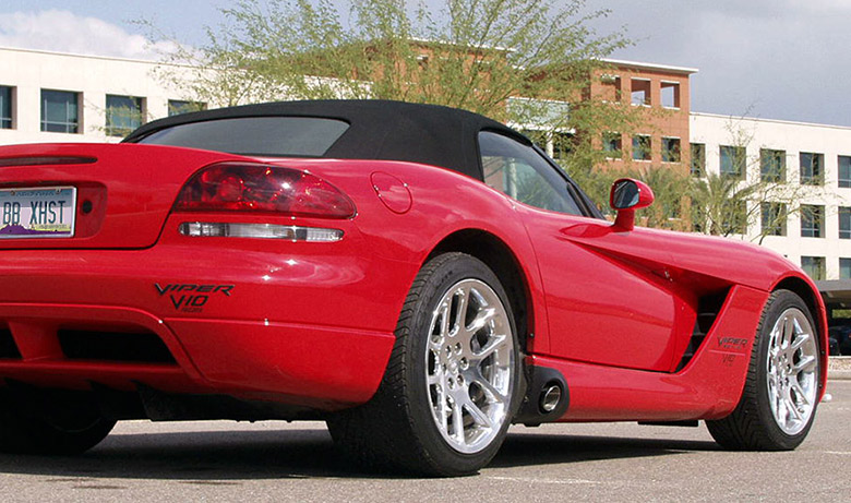 Dodge Viper SRT-10 Drive Off – Billy Boat Exhaust