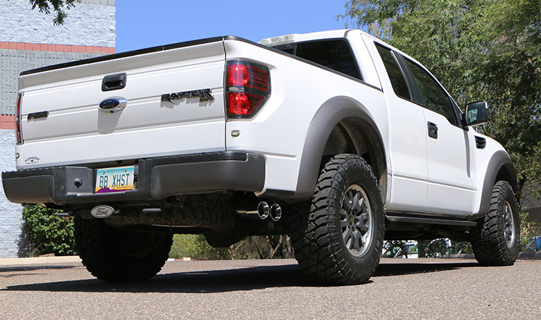 Ford F-150 Raptor Drive Off – Billy Boat Exhaust