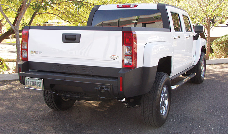 Hummer H3T Alpha Drive Off – Billy Boat Exhaust