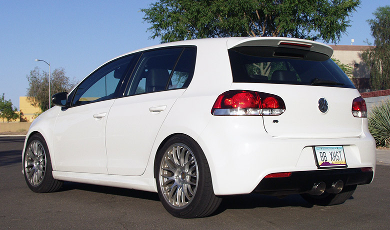 VW Golf R 12-14 Drive Off – Billy Boat Exhaust