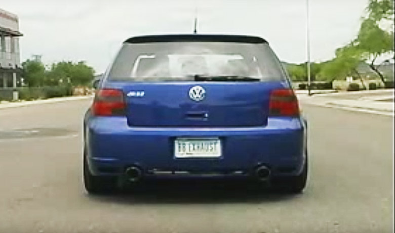 VW R32 Dive Off – Billy Boat Exhaust