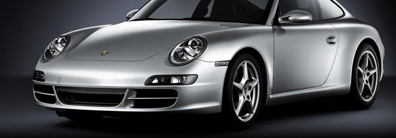 Porsche 997 TT Rear Exhaust System, Mufflers OE Tips #FPOR-0880