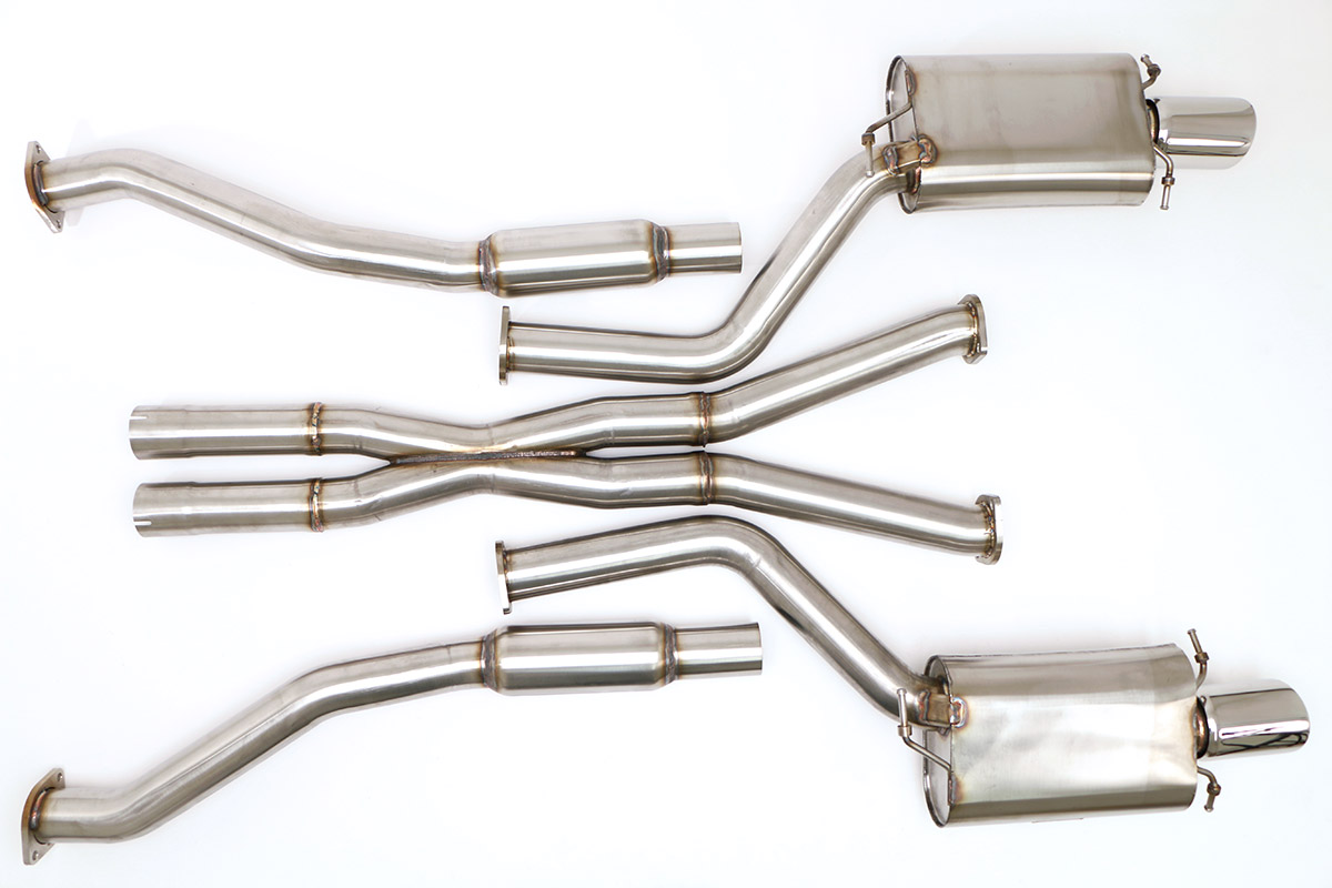 Cts V Exhaust Products Billy Boat 2007 Ford Fusion Cadillac System
