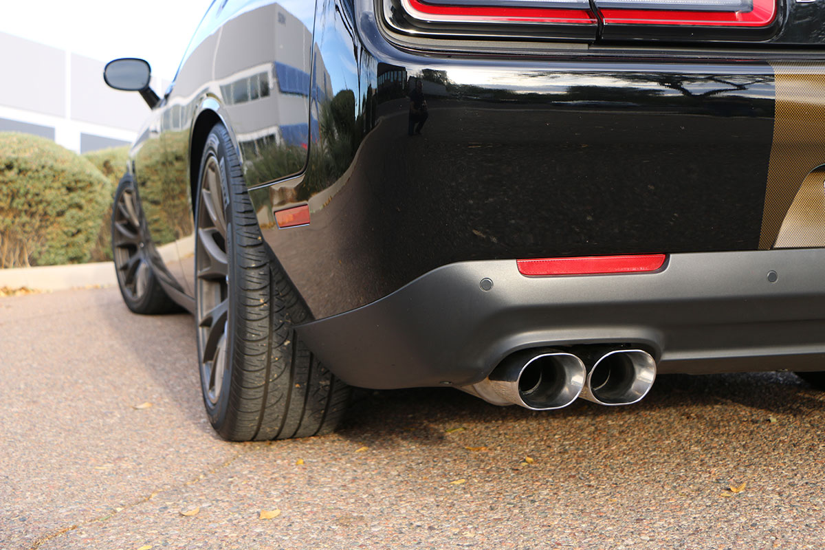Dodge Challenger SRT Hellcat Cat Back Exhaust System (Oval ...
